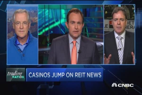 After MGM shifts to a REIT, expect a REIT run?