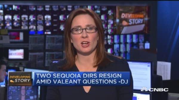 Sequoia Fund directors resign amid Valeant losses