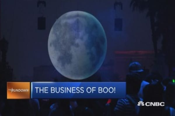 The business of boo!