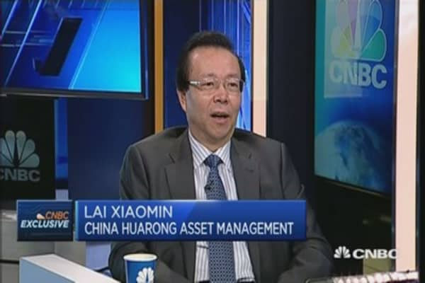 Huarong chair: I'm confident on Chinese economy'