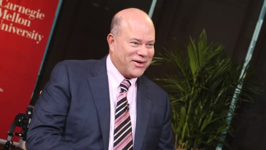 David Tepper, at Carnegie Mellon University, October 30, 2015 in Pittsburgh.