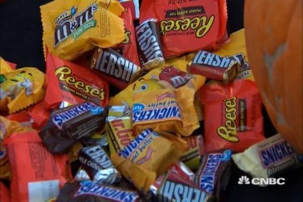 America's most popular Halloween candy