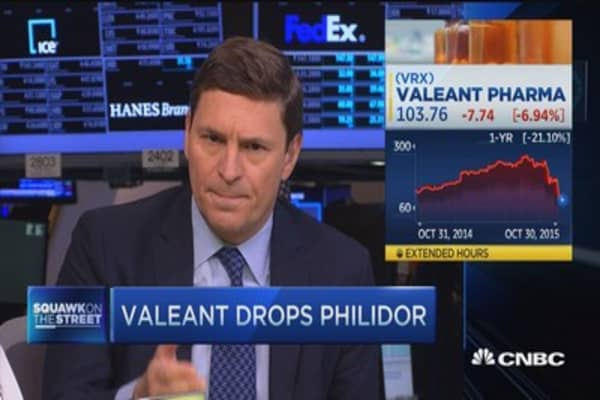 Ackman's Valeant defense