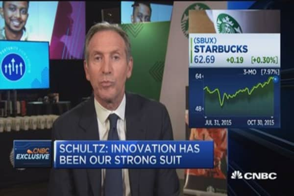 Howard Schultz on Starbucks' growth