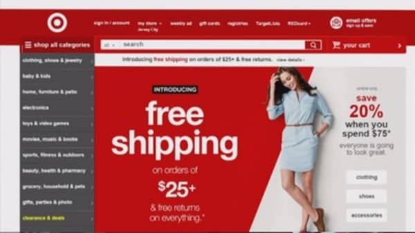 Target gifting free shipping