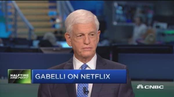 Gabelli buys more Netflix