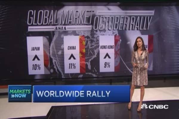 October turns global markets around