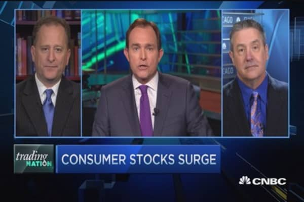 Trading Nation: Following consumer stocks' lead