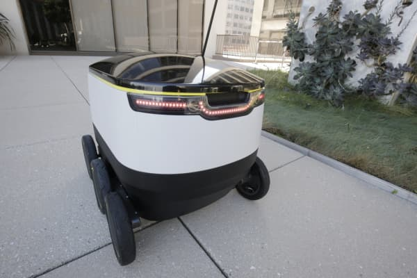 drone delivery amazon with Forget Delivery Drones Meet Your New Delivery Robot on Index besides Top 3 Tested Cargo Drones in addition Iceland Flytrex Drone Food Delivery additionally Is It A Drone Is It A Race Car Amazon Prime Now Promises 1 Hour Delivery in addition E merce Home Deliveries In The 4 0 Age.