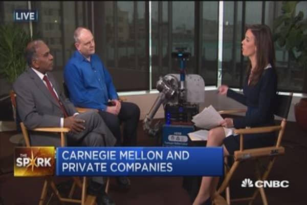 The Spark: Carnegie Mellon and robotic reptiles!