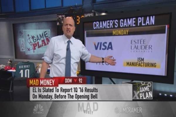 Cramer game plan: What big jobs Friday will bring
