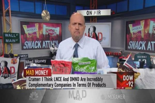 Cramer: A snack good powerhouse worth considering