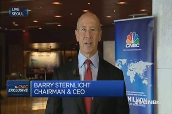 Slow GDP growth is good for property: Starwood CEO