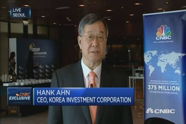 Korea Investment Corp: We're keen to diversify