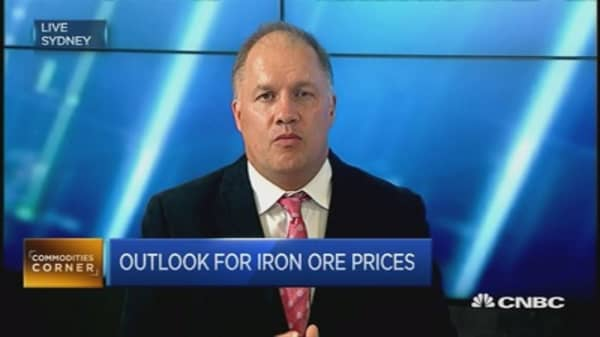 Iron ore prices will likely rebound: Investor