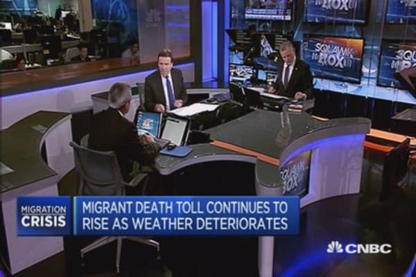 Europe's migrant crisis impacting Greek tourism?