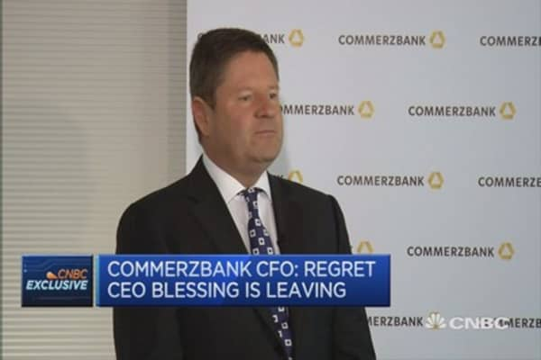 On track with turnaround: Commerzbank CFO