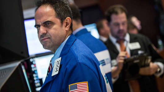 United States stocks slip but Dow Jones holds above 23000