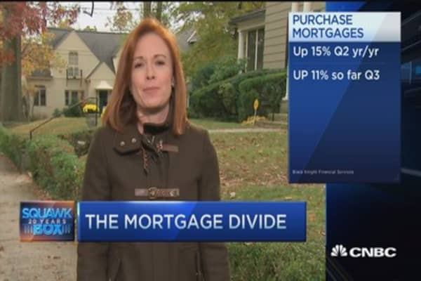 Mortgages for the 'haves'