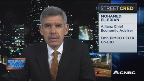 El-Erian: Central banks cannot be the only game in town