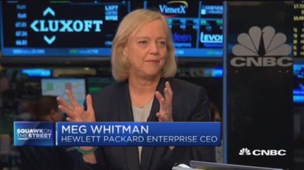 Meg Whitman: Smaller and nimble huge advantage