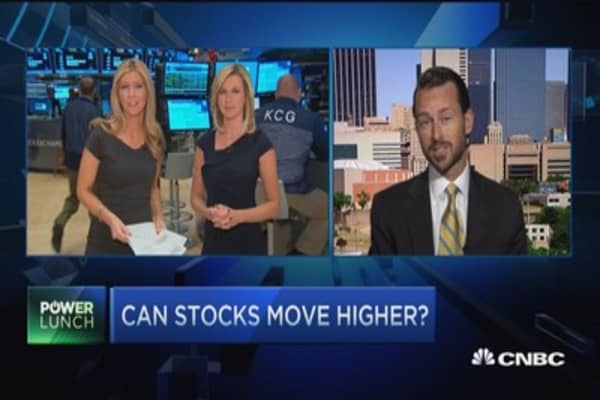 Can stocks move higher?
