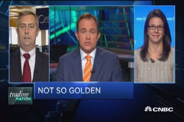 Trading Nation: Gold has another rough day
