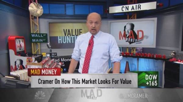 Cramer: Stocks too darned cheap for their sector
