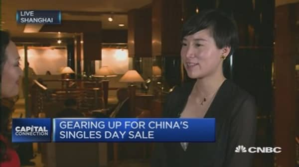 Gearing up for China's Singles' Day