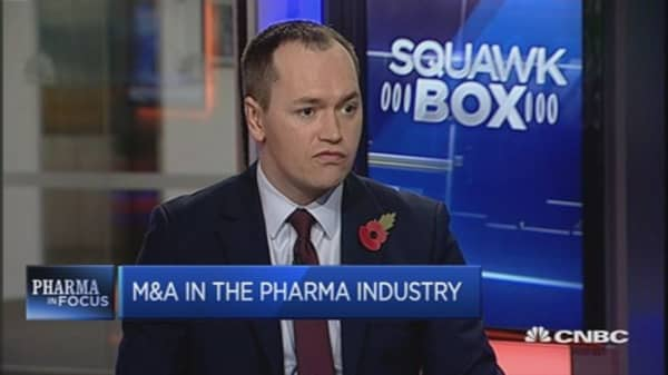 Drug innovation driving M&A: Researcher