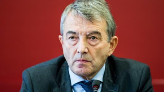 DFB President Wolfgang Niersbach