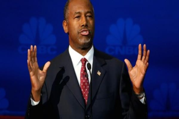 Carson overtakes Trump as GOP front-runner: NBC-WSJ Poll