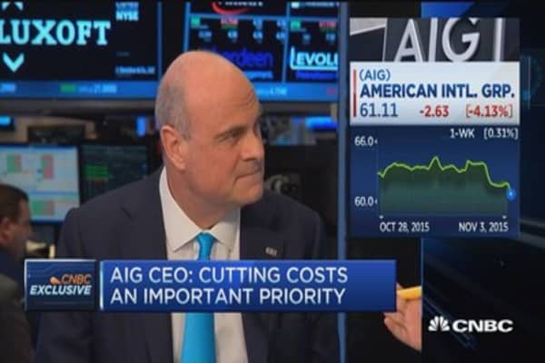 AIG CEO: Icahn wrong on split idea