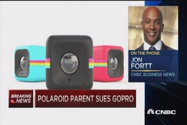 Polaroid parent sues GoPro