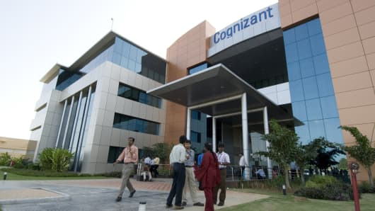 Cognizant Technology Solutions office in India.