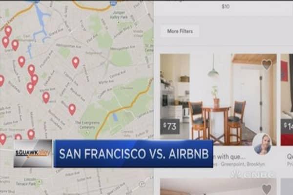 San Francisco vs. Airbnb