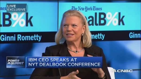 IBM CEO: What's behind our company's growth