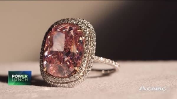 One of the most expensive diamonds ever sold