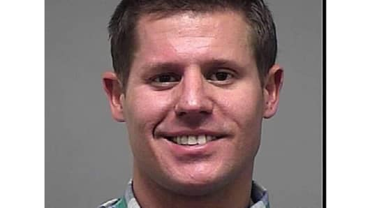 Benjamin Golden in 2012 mugshot for prior arrest