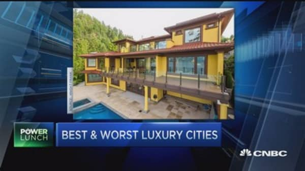 Top cities for luxury housing