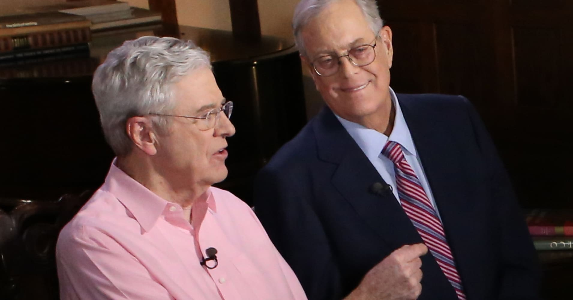 Koch political network supports heitkamp for bank for David koch usa