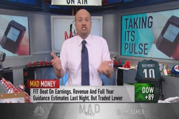 Cramer: Why Fitbit can go higher