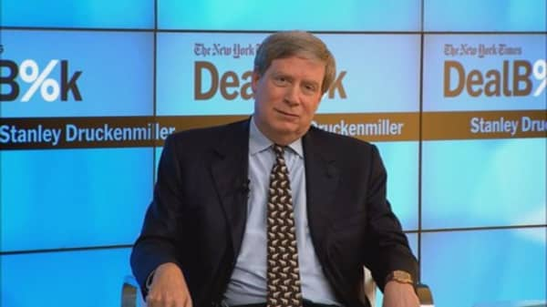 Druckenmiller: Problem is, Fed's managing for short term