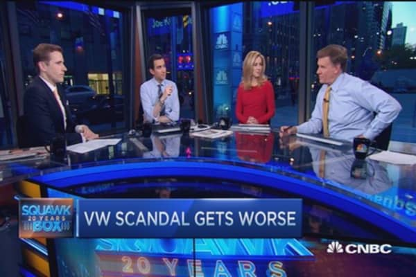 VW emission scandal now clouds gas cars