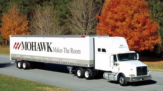Mohawk Industries truck.