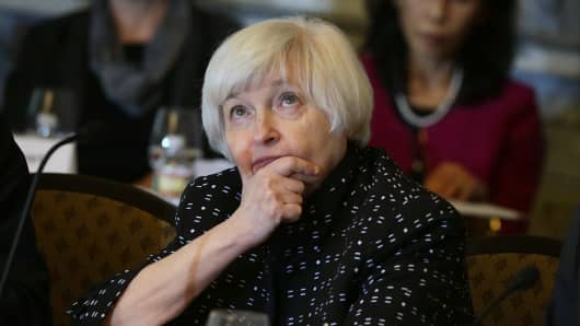 Federal Reserve Board Chair Janet Yellen.
