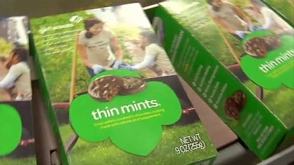 Girl Scout cookies now cost $5 a pop