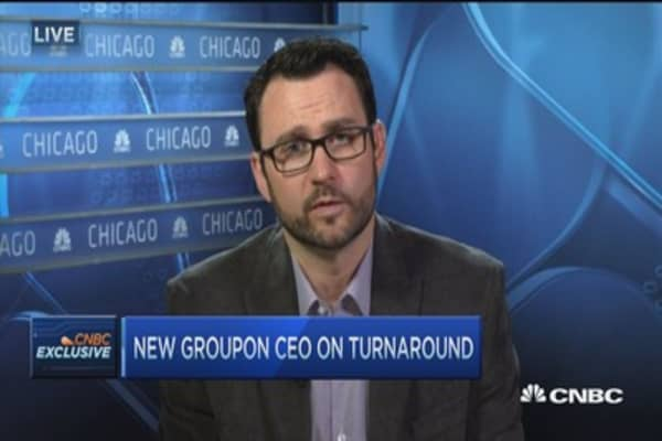Groupon CEO: Not a fairy tale start
