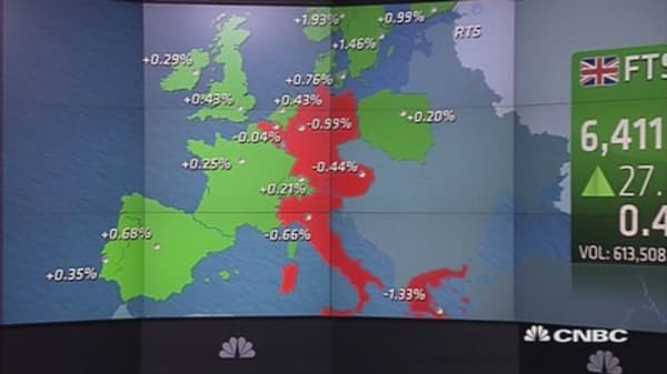 Europe ends mixed; miners soar; VW sinks 9.5%