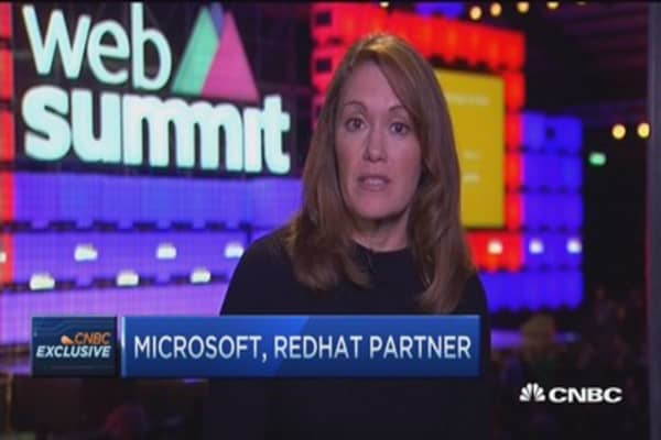 Microsoft, Red Hat partner